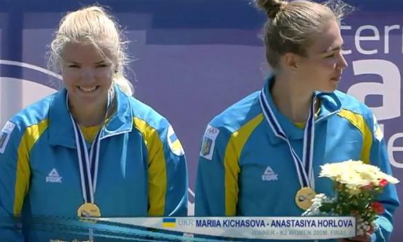 Украинки завоевали золотые медали на этапе Кубка мира по гребле