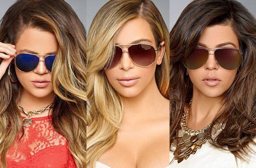 Сестры Кардашьян выпустили лимитированную коллекцию солнцезащитных очков