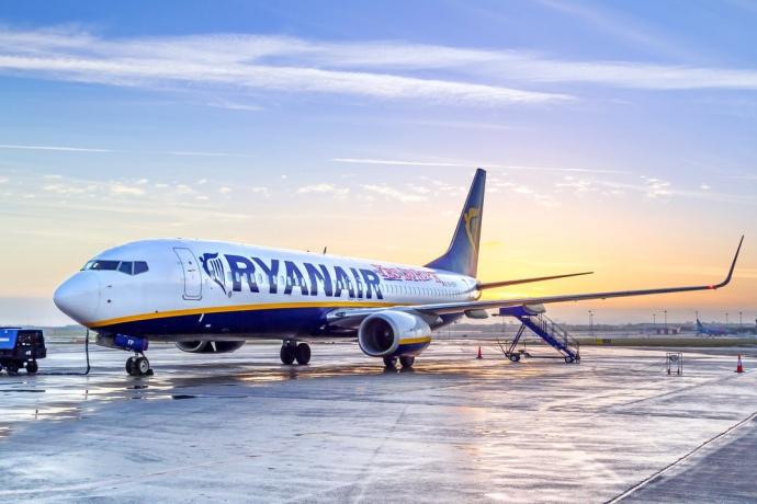 Ryanair будет летать из «Борисполя»