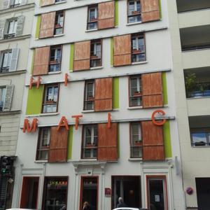 Эко-отель Hi-Matic в Париже