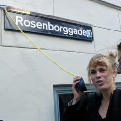 В Копенгагене появились «говорящие таблички» с названиями улиц