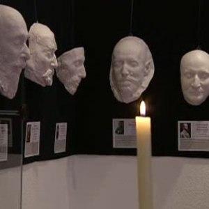 Выставка посмертных масок открывается в Киеве