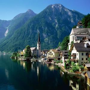 В Китае создали точную копию австрийского курорта