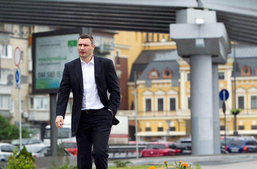 Виталий Кличко представил новую пешеходную зону на Днепровской набережной