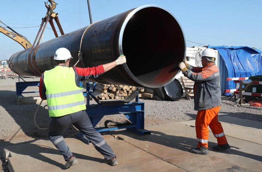 Первую нитку газопровода «Северный поток-2» в скором времени планируют полностью