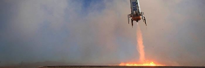Погодные условия внесли коррективы в суборбитальный полет для Компания Безоса